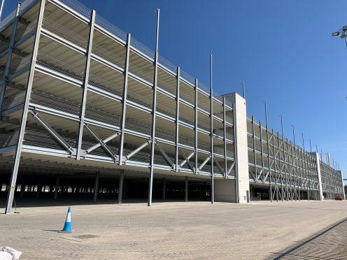 Multi-Storey Car Park – Completion Achieved
