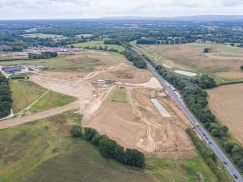 Segher's Place – Completion of highway works on the A22 Uckfield bypass